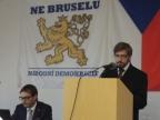 Projev místropředsedy ND Ladislava Zemánka