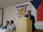 Projev člena předsednictva ND Františka Červenky