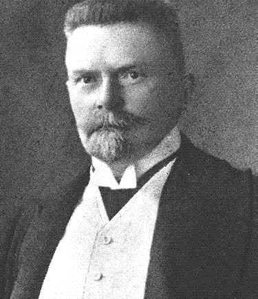 Zakladatel a předseda strany Národní demokracie, JUDr. Karel Kramář