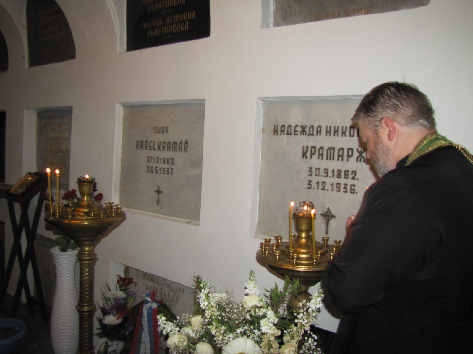 Projev Adama B. Bartoše u hrobu Karla Kramáře, 27. 5. 2018 (uvnitř foto)