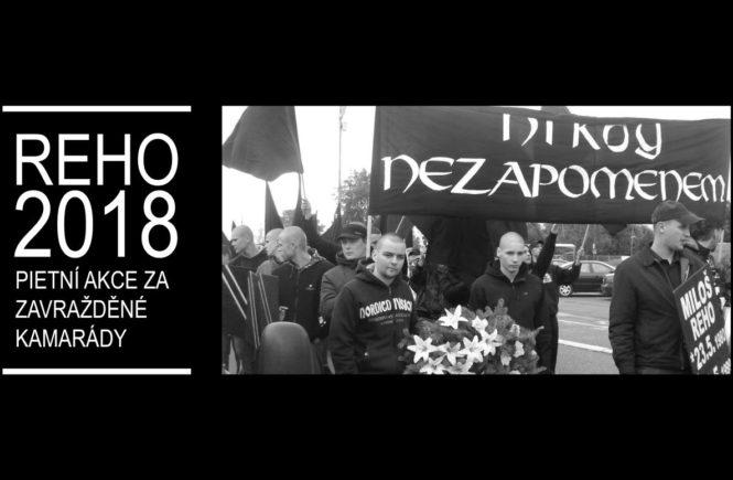 Pietní akce za zavražděné kamarády – Reho 2018