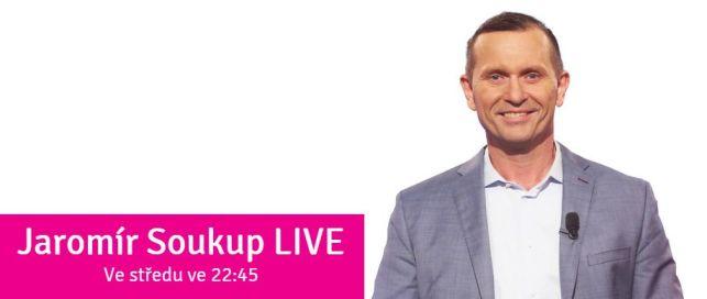 ABB dnes večer (22:45) na TV Barrandov v Jaromír Soukup Live - NÁRODNÍ DEMOKRACIE