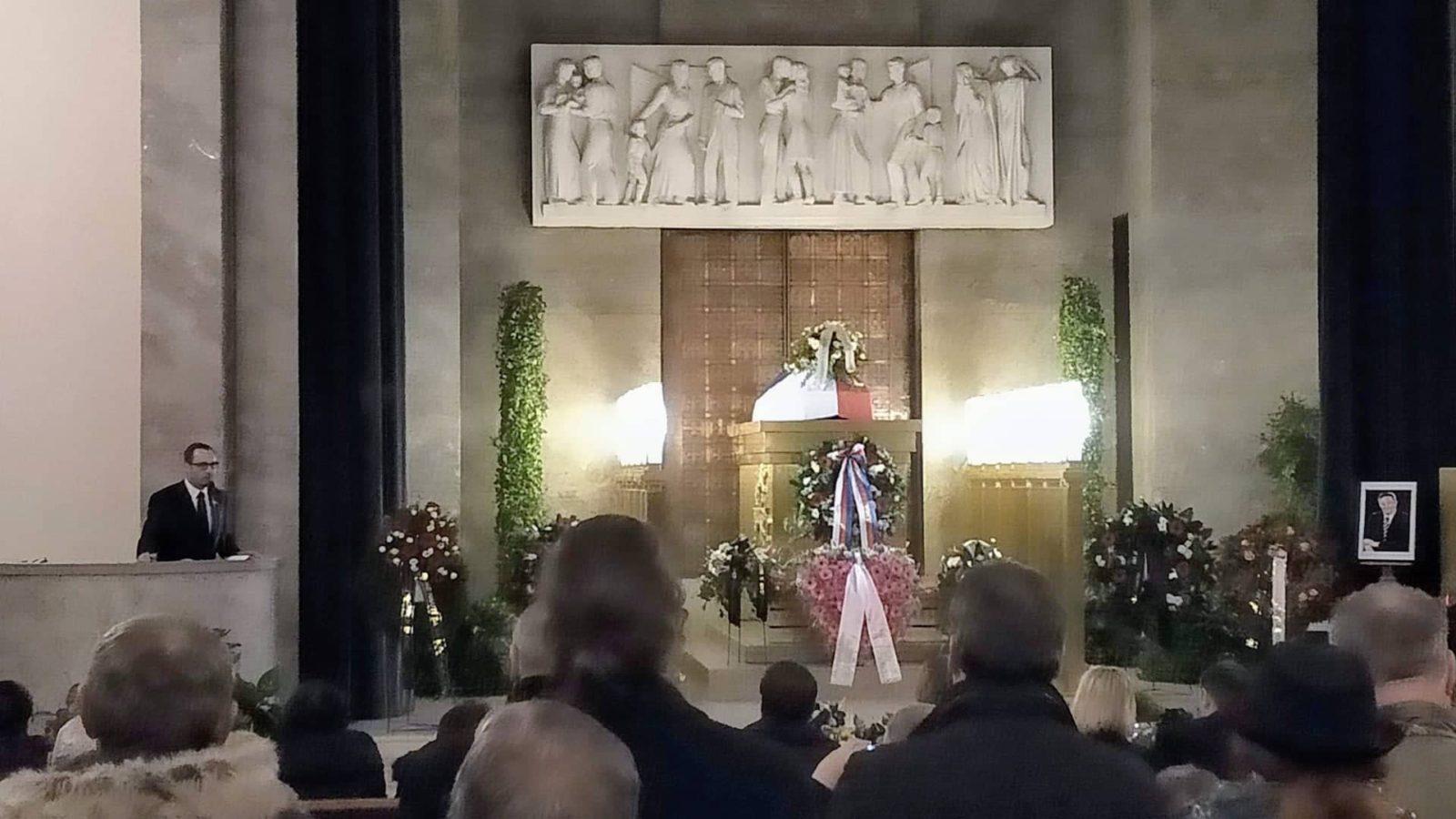 Smuteční řeč ABB na pohřbu Jana Skácela - NÁRODNÍ DEMOKRACIE