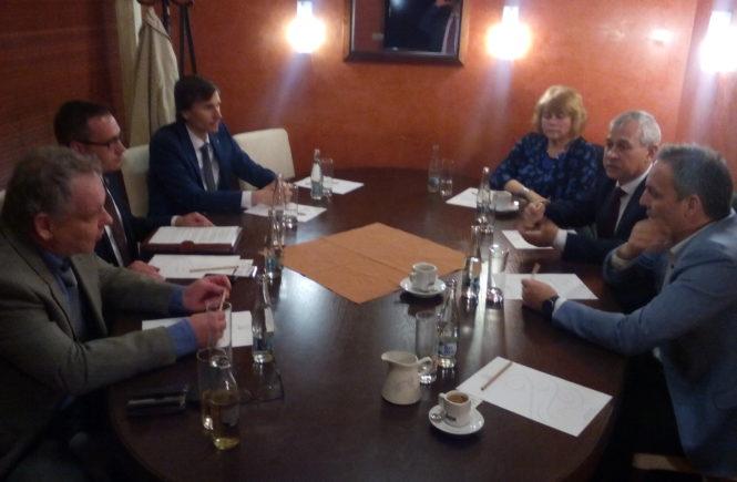 Národní demokracie jako první strana v Evropě uzavřela spolupráci s ruskou stranou LDPR Vladimira V. Žirinovského. Zástupci obou stran podepsali v Praze deklaraci, ve které odsoudili EU, NATO a migraci