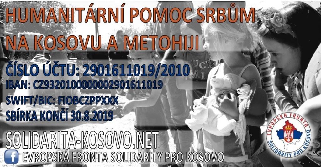 Podpora Srbů na Kosovu i letos