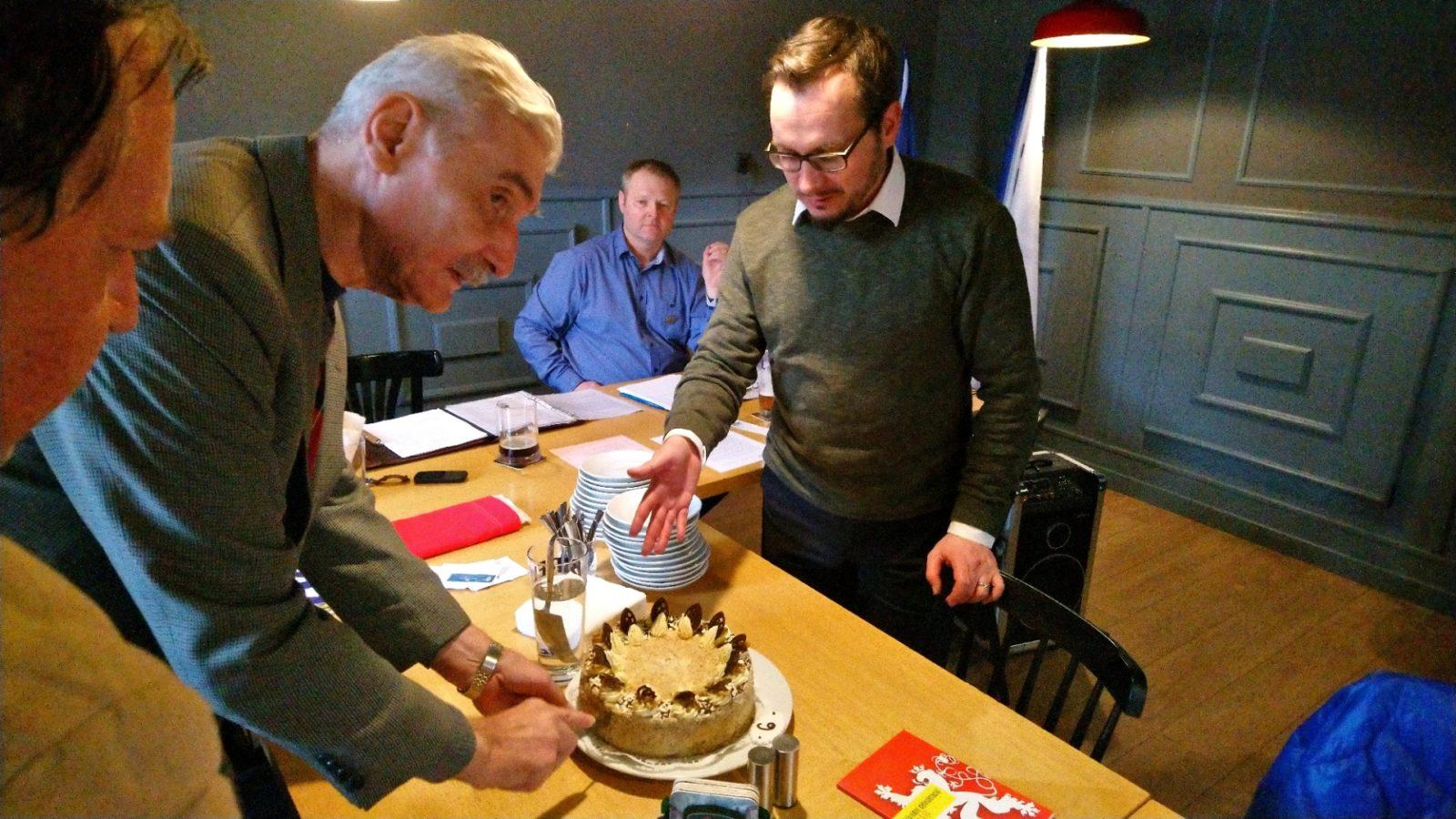 Národní demokraté v Rokycanech slavili Brexit a šest let od obnovení strany